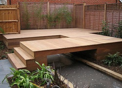 Decking photos showcase humecity timber for Timber decking materials