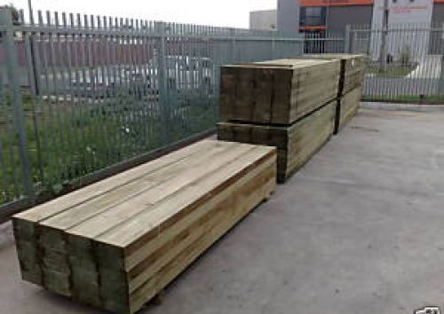 how to cut treated pine sleepers