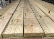 TREATED PINE DECKING 90x22mm 4.8m